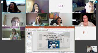"""Εσπερινό Γυμνάσιο – Λ.Τ. Καρδίτσας: """"Πρόγραμμα Erasmus+: διαδικτυακή συνάντηση"""""""