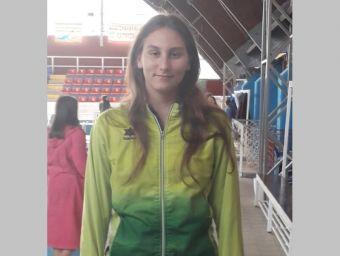 Η Ειρήνη Τσαπράζη στην προεθνική ομάδα