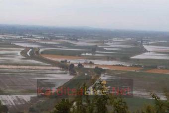 Σε κατάσταση έκτακτης ανάγκης πολιτικής προστασίας κοινότητες των Δήμων Καρδίτσας και Μουζακίου