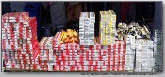 Σύλληψη 65χρονου στη Λάρισα για μια αποθήκη γεμάτη αφορολόγητα τσιγάρα