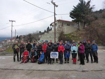 Πρώτη πεζοπορία από τον Ορειβατικό Σύλλογο Καρδίτσας (ΕΟΣΚ) για τη νέα χρονιά