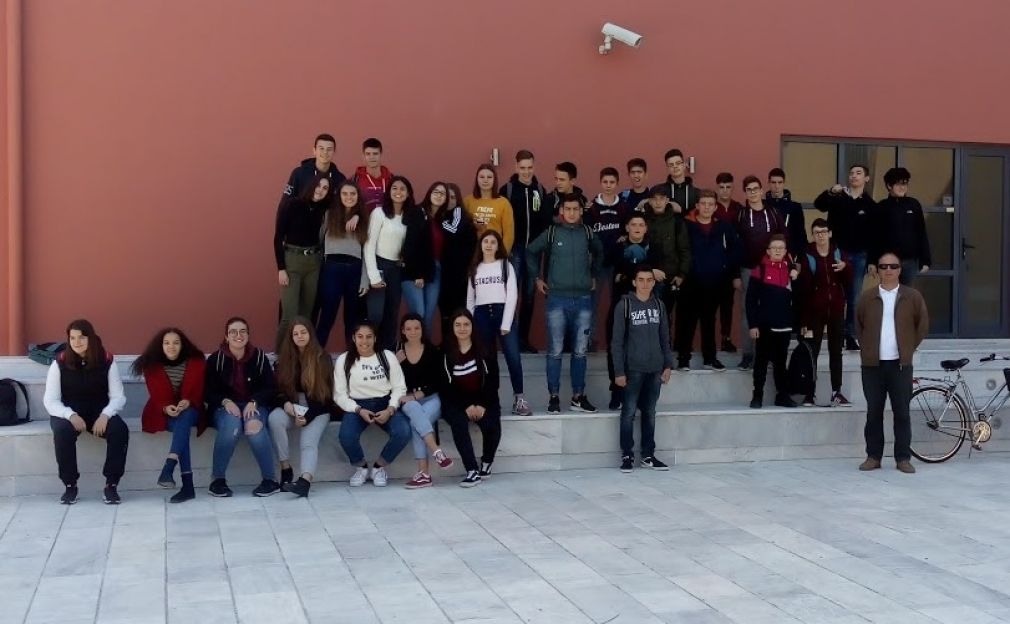Διδακτική επίσκεψη των μαθητών της Γ' τάξης του 4ου Γυμνασίου στο Αρχαιολογικό Μουσείο Καρδίτσας