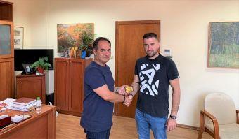 Το Δήμαρχο Καρδίτσας επισκέφτηκε ο πρόεδρος της Αναγέννησης Καρδίτσας