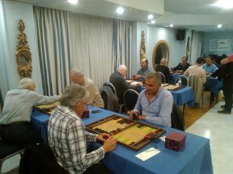 6ο πρωτάθλημα Αγωνιστικού Τάβλι: Αμπράζης και Κέφος το απόλυτο νικών για τη 2η αγωνιστική
