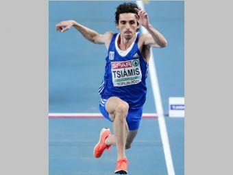 Ευρωπαϊκό πρωτάθλημα: 7η θέση στον τελικό του τριπλούν για τον αειθαλή Δημήτρη Τσιάμη!