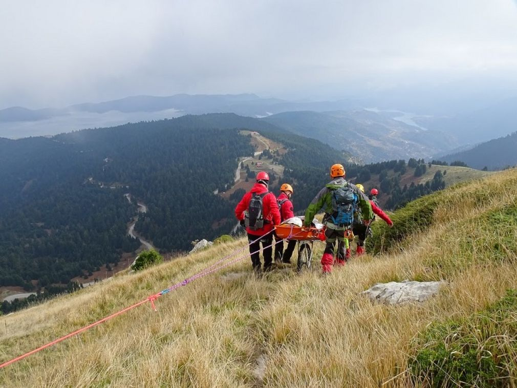 Άσκηση ορεινής διάσωσης πραγματοποιήθηκε στις 11 Νοεμβρίου από την Ελληνική Ομάδα Διάσωσης Καρδίτσας (+Φώτο)