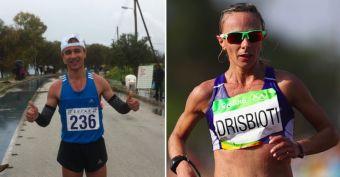 Νικητές στο πανελλήνιο πρωτάθλημα στα 20 χλμ βάδην Αλ. Παπαμιχαήλ και Αντ. Ντρισμπιώτη!