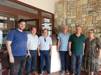 Συνάντηση του Συλλόγου Εκπαιδευτικών Πρωτοβάθμιας Εκπαίδευσης με τον Δήμαρχο Λ. Πλαστήρα
