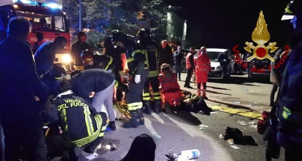 Τραγωδία σε κλαμπ στην Ιταλία: Ποδοπατήθηκαν μετά από εκτόξευση σπρέι πιπεριού