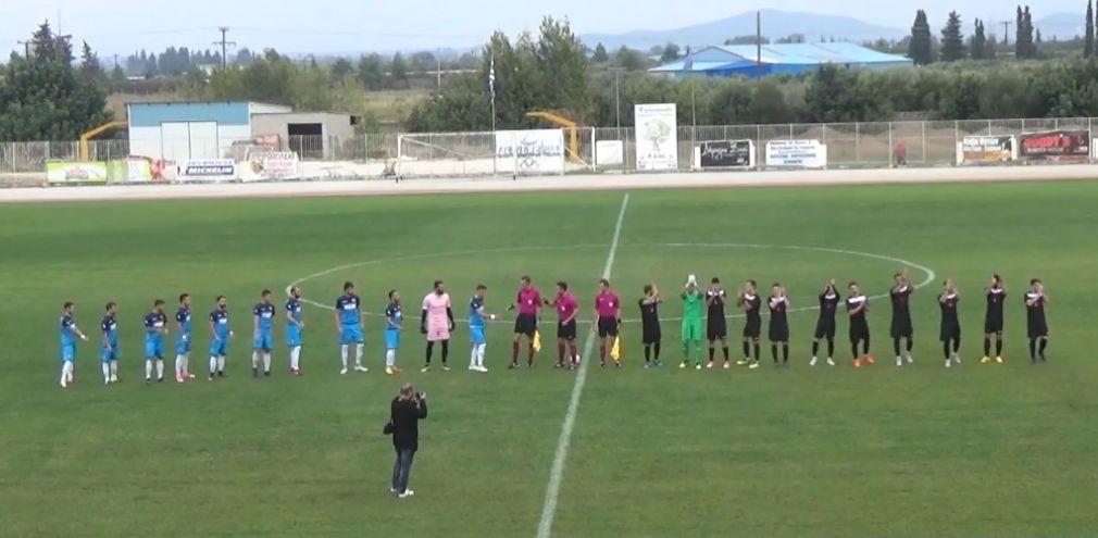 Στιγμιότυπα και δηλώσεις απο τον αγώνα Γ.Σ. Αλμυρού - Α.Ο. Σελλάνων (2-1)