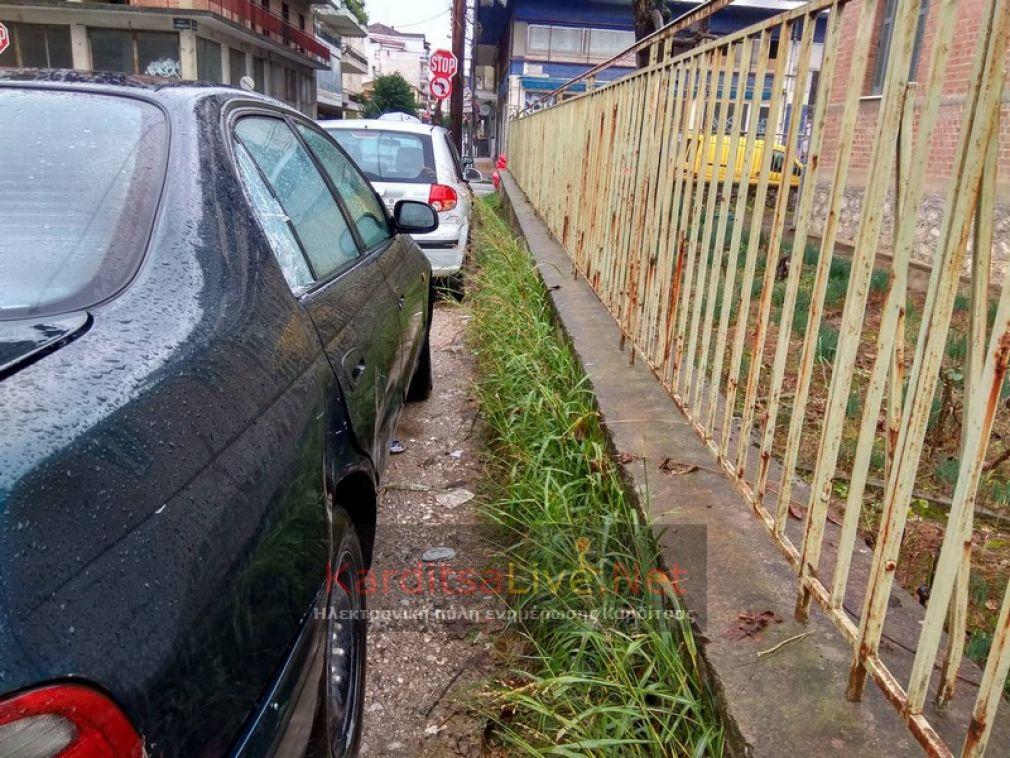Καρδίτσα: Οδηγοί με έλλειψη σεβασμού στο συνάνθρωπο (+Φώτο)