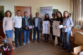 """Βραβεύτηκαν οι Καρδιτσιώτες που διακρίθηκαν στον πανευρωπαικό διαγωνισμό """"Social Biking Challenge"""""""