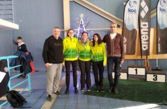 Τρία μετάλλια για την Α.Κ.Α.Κ. στο Grand Prix Χριστουγέννων 25αρας πισίνας
