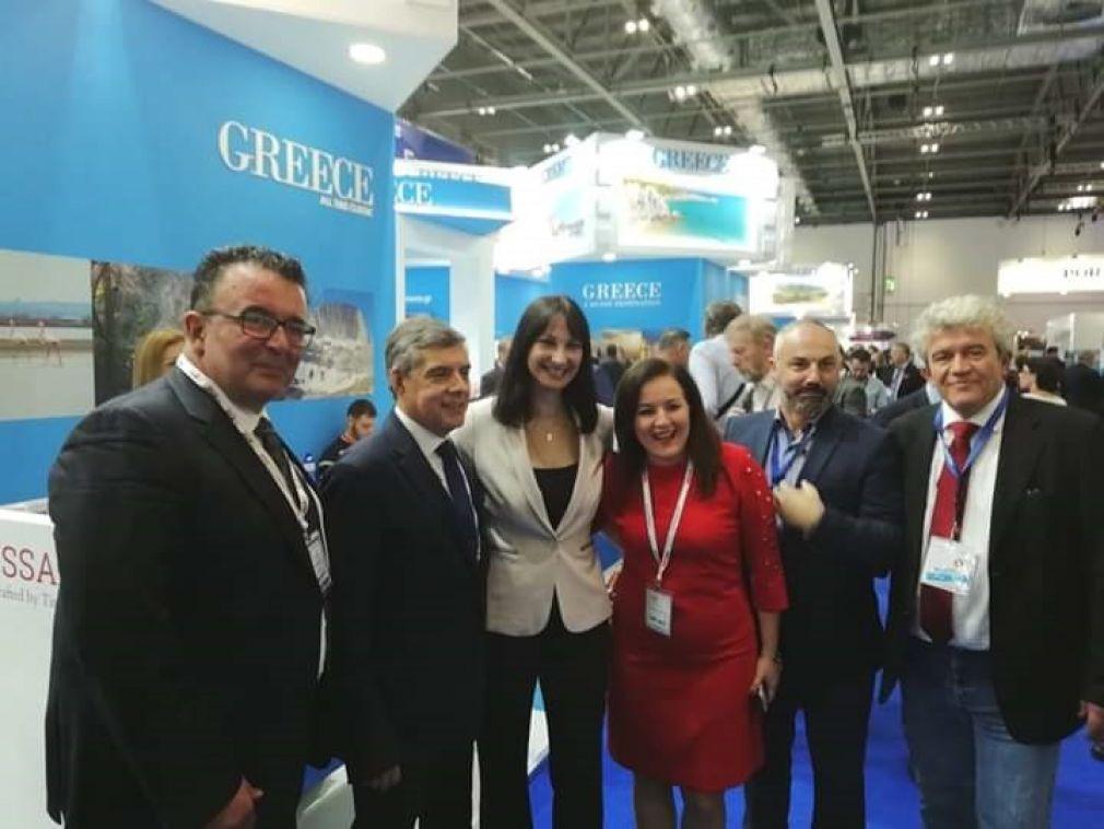 Στην World Travel Market 2018 συμμετείχε με περίπτερο η Περιφέρεια Θεσσαλίας